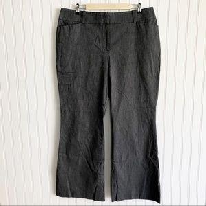 Ann Taylor Curvy Fit Wide Leg Dress Pants Size 16